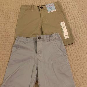 2pair Cat & Jack cotton shorts